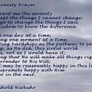 The Serenity Prayer Art Print