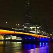The Shard And London Bridge Art Print