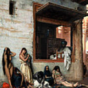 The Slave Market Art Print