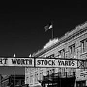 The Stock Yards Of Fort Worth Art Print