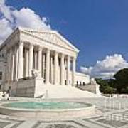 The Us Supreme Court Building Art Print