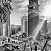 The Venetian Resort Hotel Casino Art Print