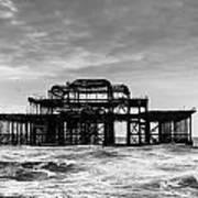 The West Pier In Brighton Art Print
