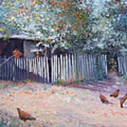 The White Picket Fence Art Print