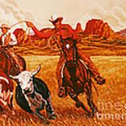 The Wranglers Art Print