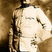 Theodore Roosevelt 1898 Art Print