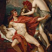 Thetis Bringing The Armor To Achilles Art Print