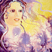Thistledown Art Print by Patricia Howitt