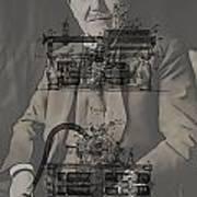 Thomas Edison's Phonograph Art Print