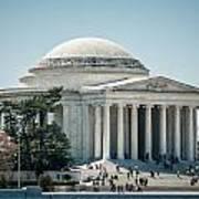 Thomas Jefferson Memorial In Washington Dc Usa Art Print