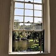 Through The Window Art Print