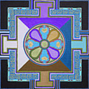 Tibetan Mandala Art Print