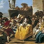 Tiepolo, Giovanni Domenico 1727-1804 Art Print