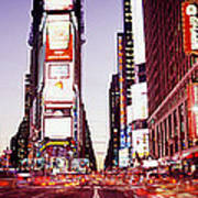 Times Square, Nyc, New York City, New Art Print