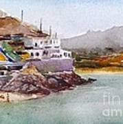 Tinos Art Print by George Siaba