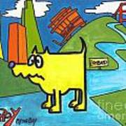 Tippy By The Bay Art Print