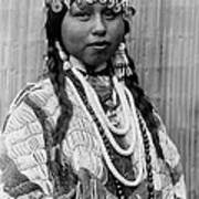 Tlakluit Indian Woman Circa 1910 Art Print by Aged Pixel