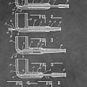 Tobacco Pipe Patent Art Print