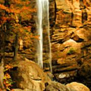 Toccoa Falls Art Print
