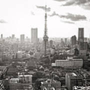 Tokyo Tower Square Art Print
