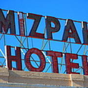 Tonopah Nevada - Mizpah Hotel Art Print