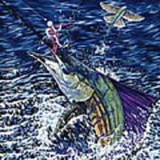 Top Sail Art Print