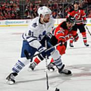 Toronto Maple Leafs V New Jersey Devils Art Print