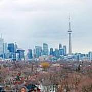 Toronto View Art Print