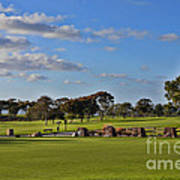 Torrey Pines Golf Course Art Print