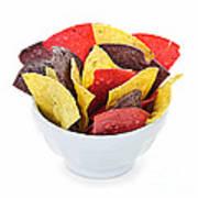 Tortilla Chips Art Print