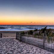 Tower Beach Sunrise Print by David Dufresne