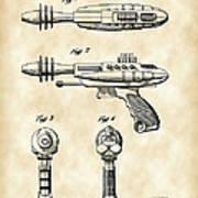 Toy Ray Gun Patent 1952 - Vintage Art Print