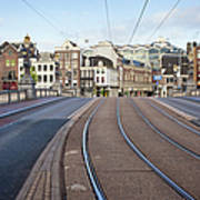 Transport Infrastructure In Amsterdam Art Print