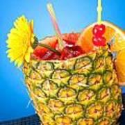Tropical Drink Art Print