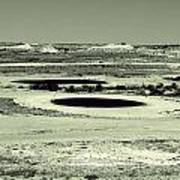 Desert Golf Art Print