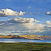 Tsomoriri Lake Leh India Art Print