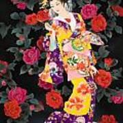 Tsubaki Art Print