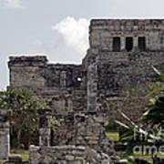 Tulum Ruins Mexico Art Print