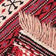Turkish Rug Art Print by Tom Gowanlock