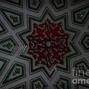 Turkish Tile Design Art Print