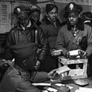 Tuskegee Airmen, 1945 Art Print by Granger