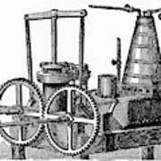 Twin-screw Steamer, 1878 Art Print