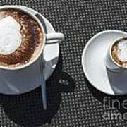 Two Cups Of Coffee Art Print