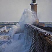 Tynemouth Pier Art Print