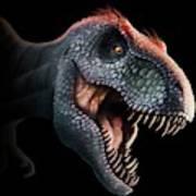 Tyrannosaurus Rex Head Art Print