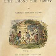 Uncle Tom's Cabin, 1852 Art Print
