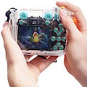 Underwater Camera Art Print