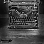 Underwood Typewriter Art Print