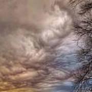 Undulatus Asperatus Clouds Art Print