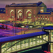 Union Station Art Print by Don Wolf